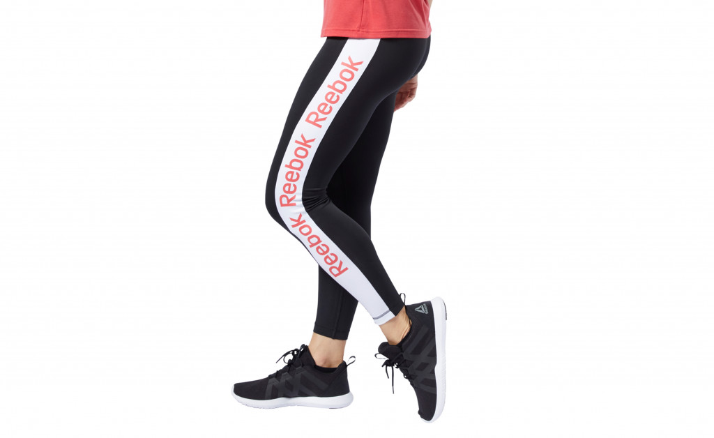 REEBOK LINEAR LOGO TIGHT POLIESTER IMAGE 1