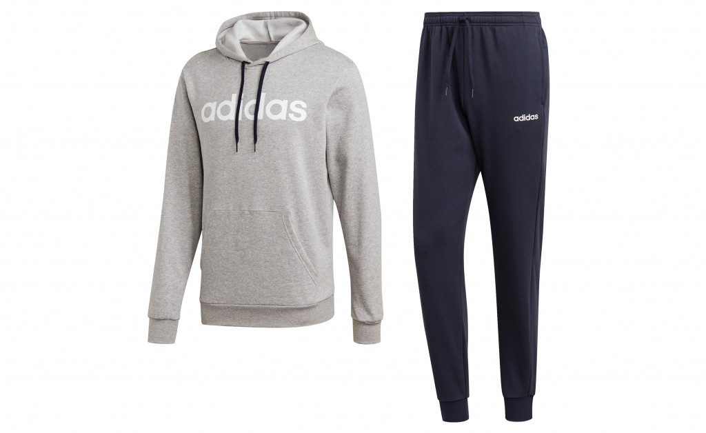 adidas HOODED TRACKSUIT COTTON IMAGE 1