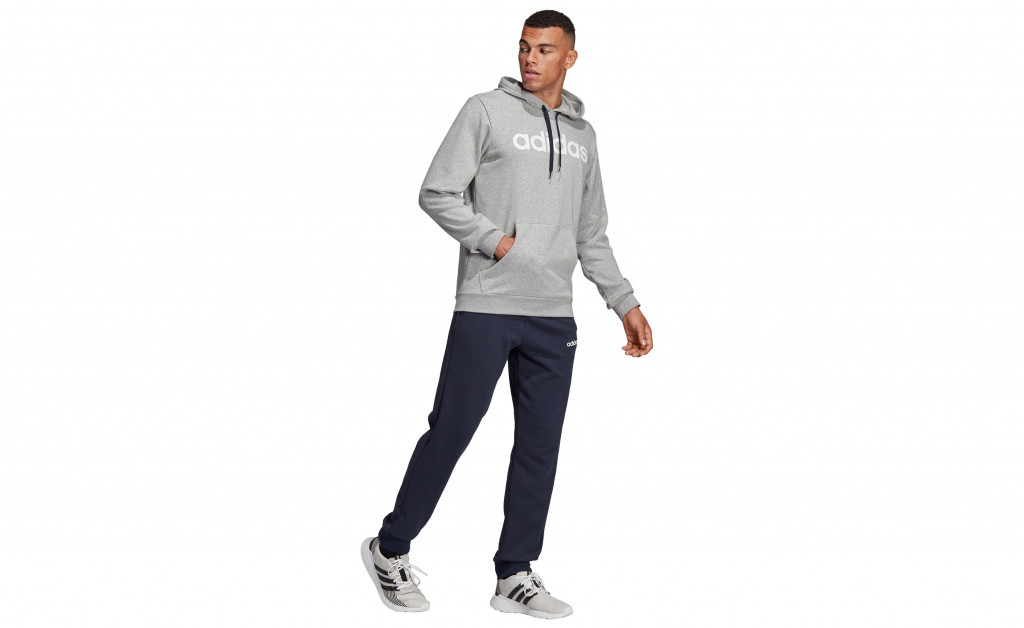 adidas HOODED TRACKSUIT COTTON IMAGE 3