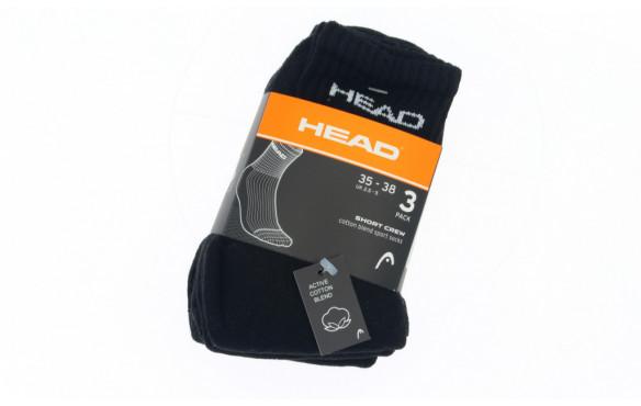 Juego de 6 zapatillas de deporte unisex Head Performance Crew 35-38, 39-42, 43-46