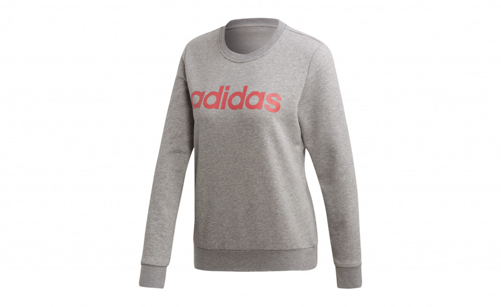 adidas ESSENTIALS LINEAR CREWNECK IMAGE 1