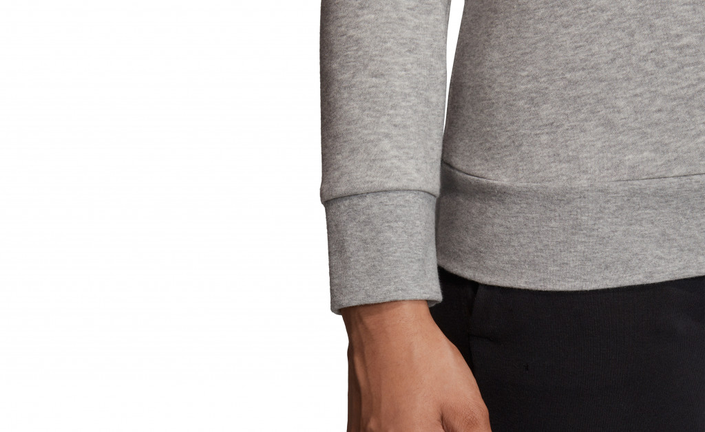 adidas ESSENTIALS LINEAR CREWNECK IMAGE 2