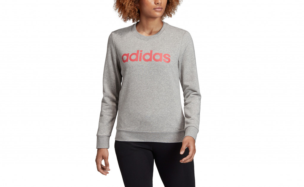 adidas ESSENTIALS LINEAR CREWNECK IMAGE 5