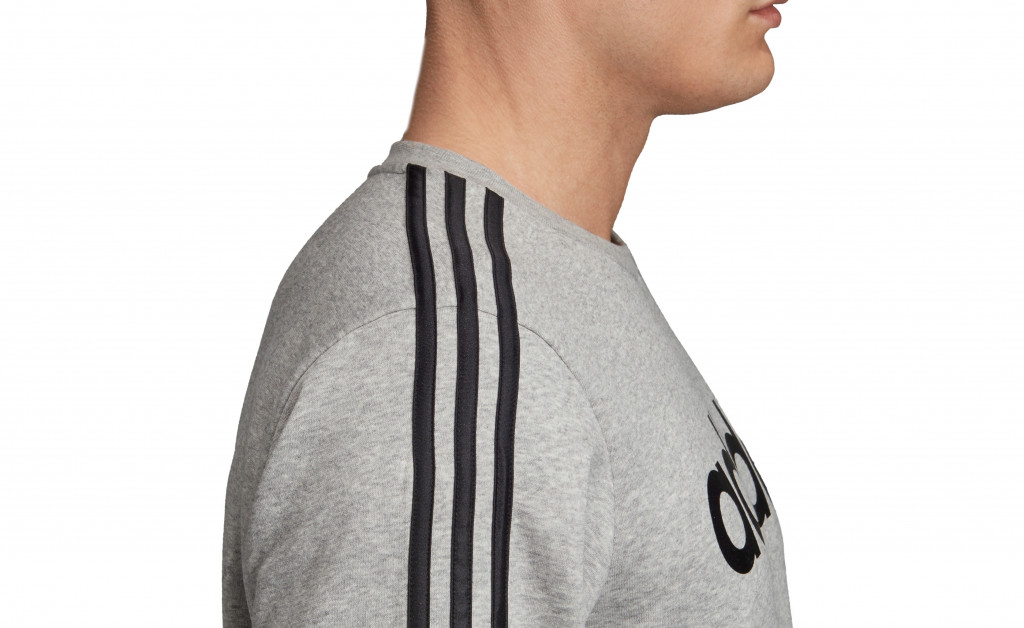 adidas SUDADERA 3 STRIPES CREWNECK FLEECE IMAGE 2