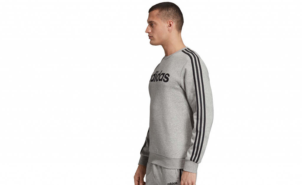adidas SUDADERA 3 STRIPES CREWNECK FLEECE IMAGE 3