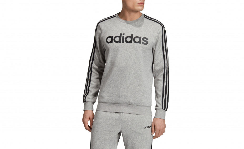 adidas SUDADERA 3 STRIPES CREWNECK FLEECE IMAGE 4