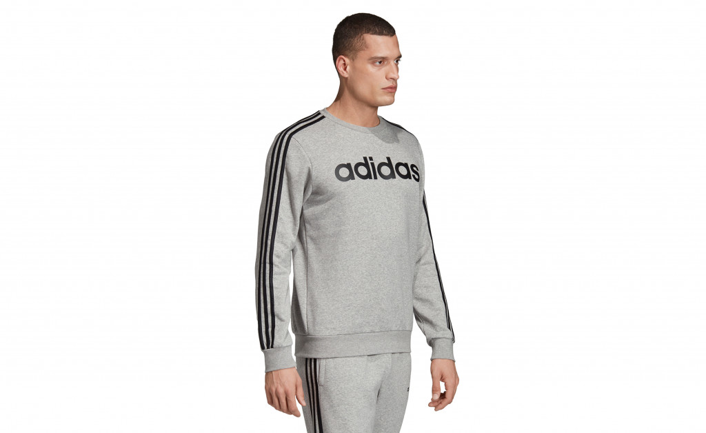 adidas SUDADERA 3 STRIPES CREWNECK FLEECE IMAGE 5