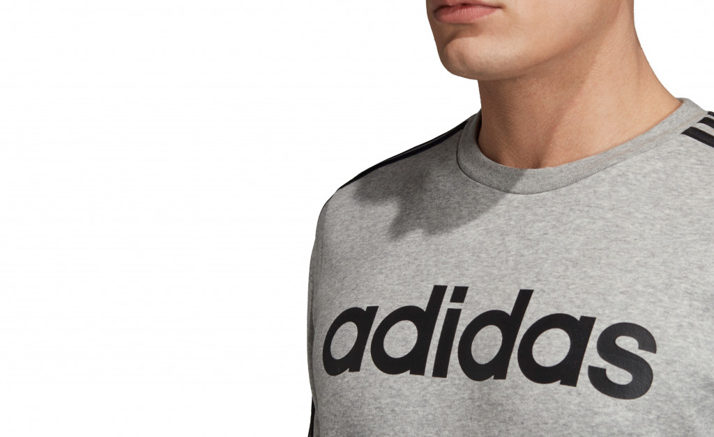 adidas SUDADERA 3 STRIPES CREWNECK FLEECE IMAGE 8
