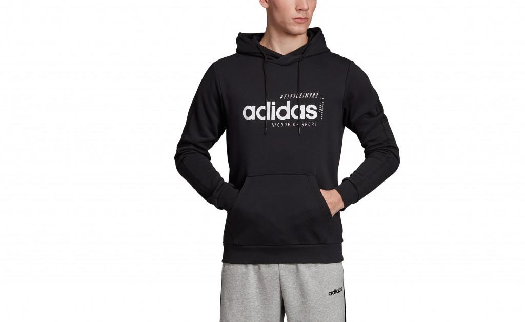 adidas M BRILLIANT BASICS HOODY IMAGE 4