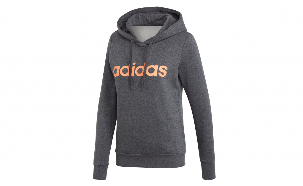 adidas LINEAR OVER HEAD FLEECE IMAGE 1