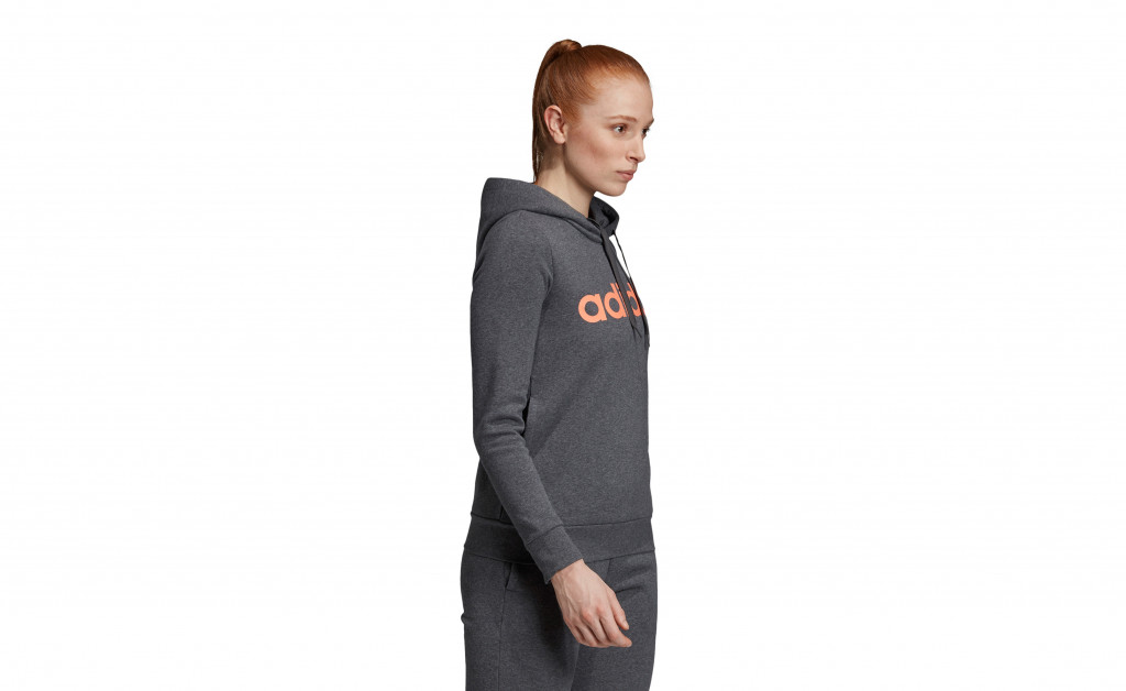 adidas LINEAR OVER HEAD FLEECE IMAGE 5