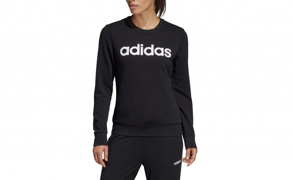 adidas ESSENTIALS LINEAR CREWNECK IMAGE 4