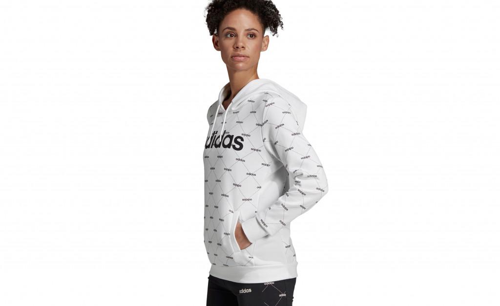 adidas W CORE FAVOURITES HOODY IMAGE 3