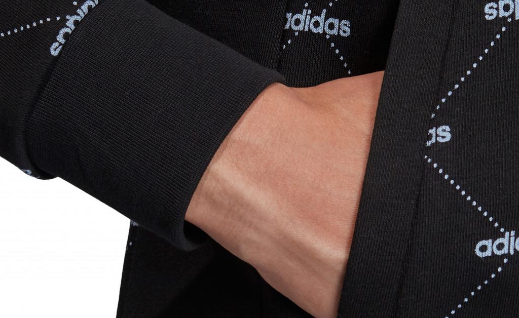 adidas W CORE FAVOURITES HOODY IMAGE 9