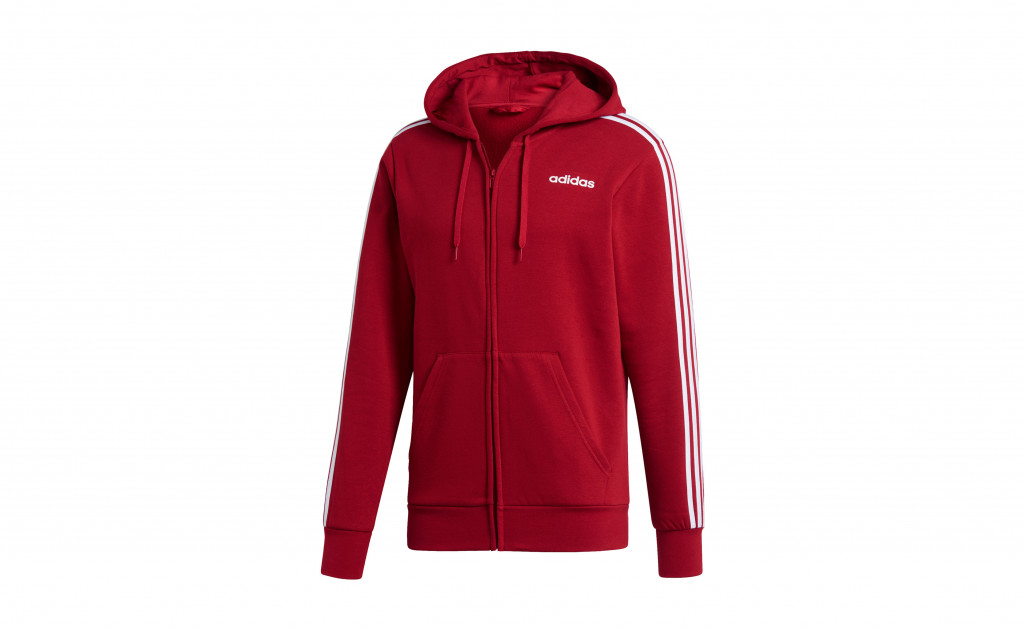 adidas ESSENTIALS 3 STRIPES FULLZIP FLEECE IMAGE 1
