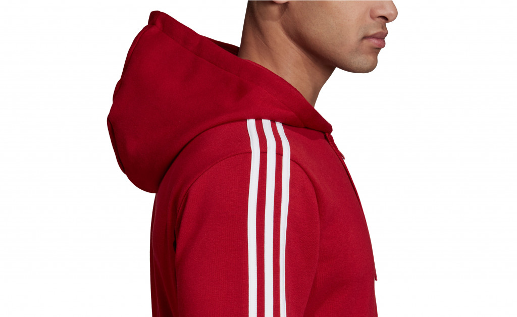 adidas ESSENTIALS 3 STRIPES FULLZIP FLEECE IMAGE 2