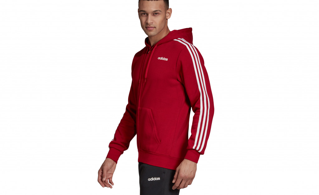 adidas ESSENTIALS 3 STRIPES FULLZIP FLEECE IMAGE 3