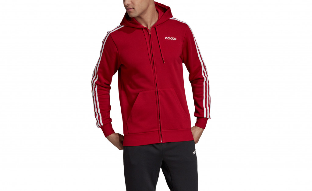 adidas ESSENTIALS 3 STRIPES FULLZIP FLEECE IMAGE 4