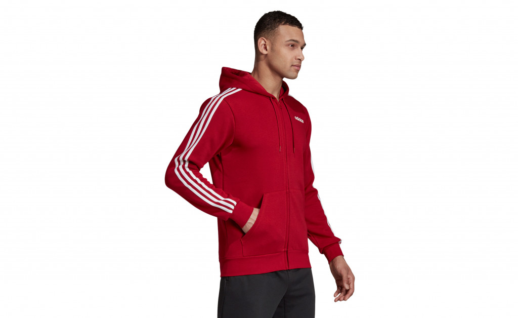 adidas ESSENTIALS 3 STRIPES FULLZIP FLEECE IMAGE 5