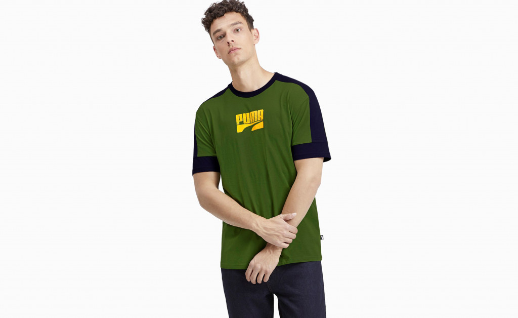 PUMA REBEL BLOCK TEE IMAGE 4
