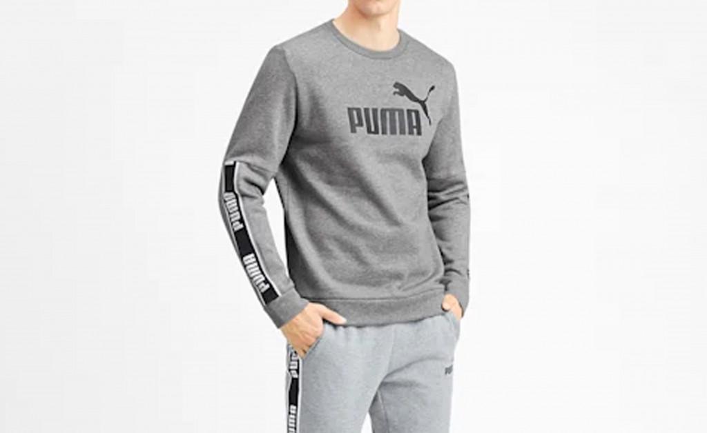 PUMA AMPLIFIED CREW FL IMAGE 4