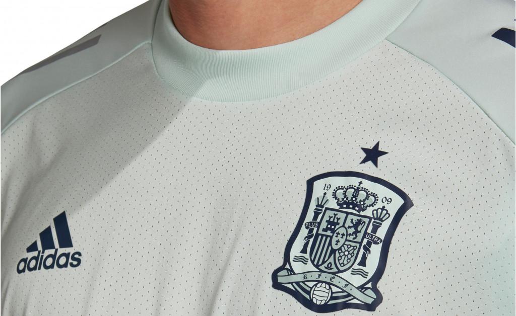 adidas CAMISETA ENTRENAMIENTO SELECCIÓN ESPAÑOLA EURO 2020 IMAGE 8