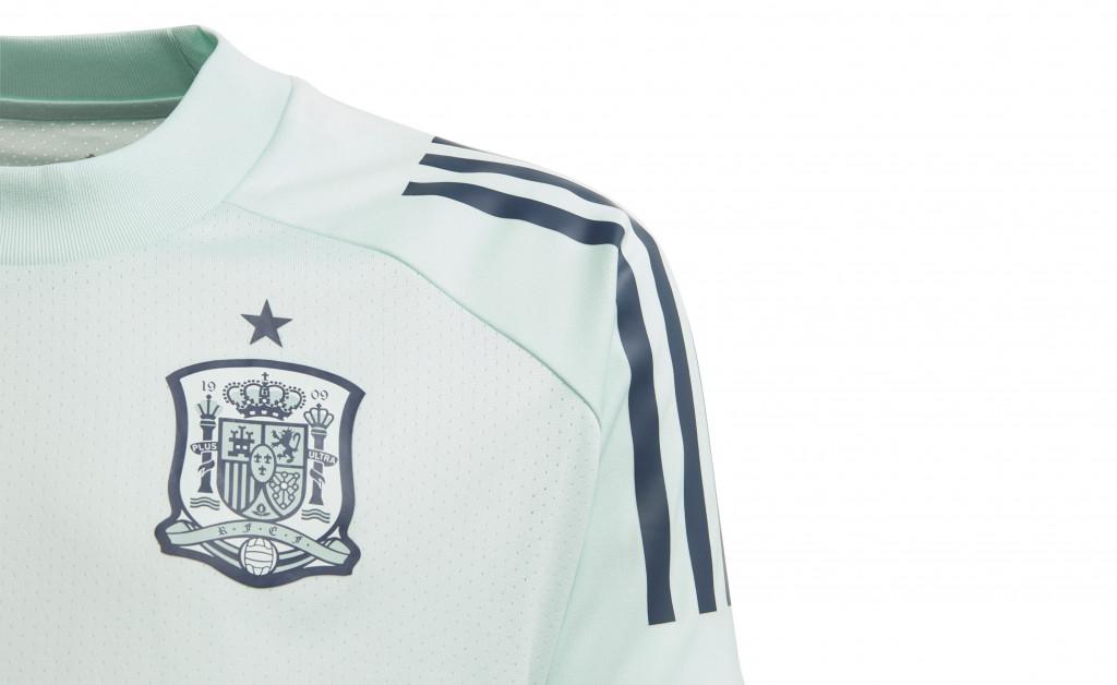adidas CAMISETA ENTRENAMIENTO JUNIOR SELECCIÓN ESPAÑOLA EURO 2020 IMAGE 2