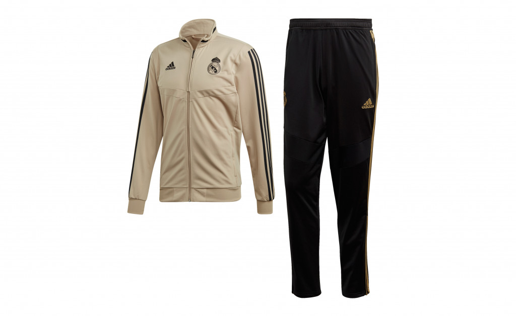 adidas CHÁNDAL REAL MADRID POLYESTER SUIT 19/20 IMAGE 1