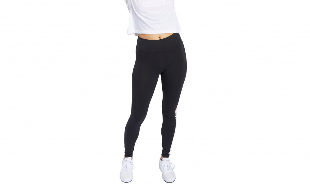 REEBOK TRAINING ESSENTIAL LINEAR LOGO LEGGING IMAGE 5