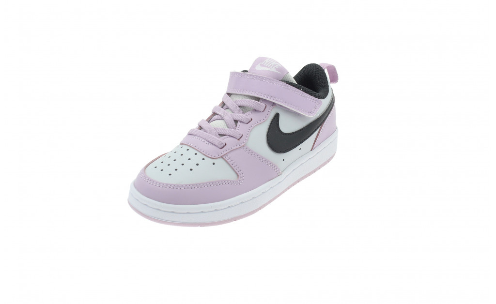 NIKE COURT BOROUGH LOW 2 KIDS IMAGE 1