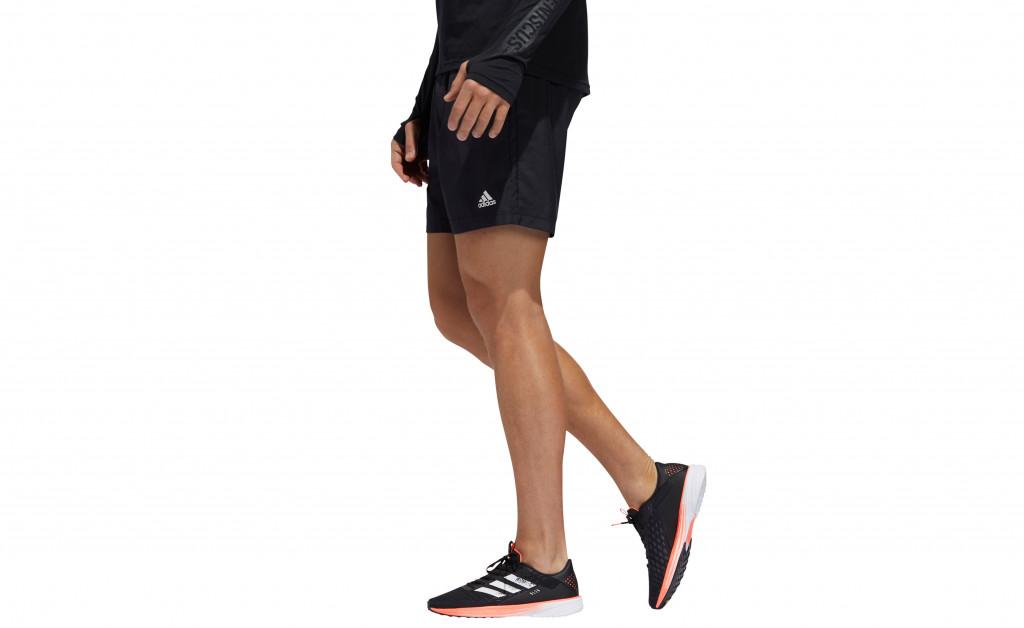 adidas RUN IT SHORT 3 STRIPES MEN IMAGE 2