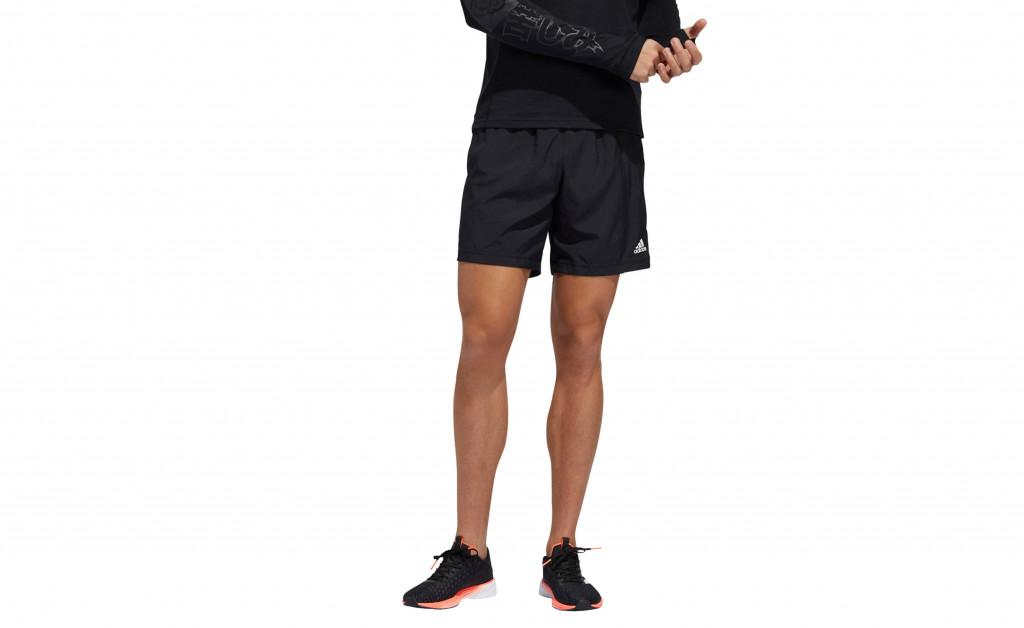 adidas RUN IT SHORT 3 STRIPES MEN IMAGE 3