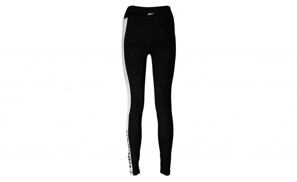 REEBOK TRAINING ESSENTIAL LINEAR LOGO LEGGING IMAGE 3