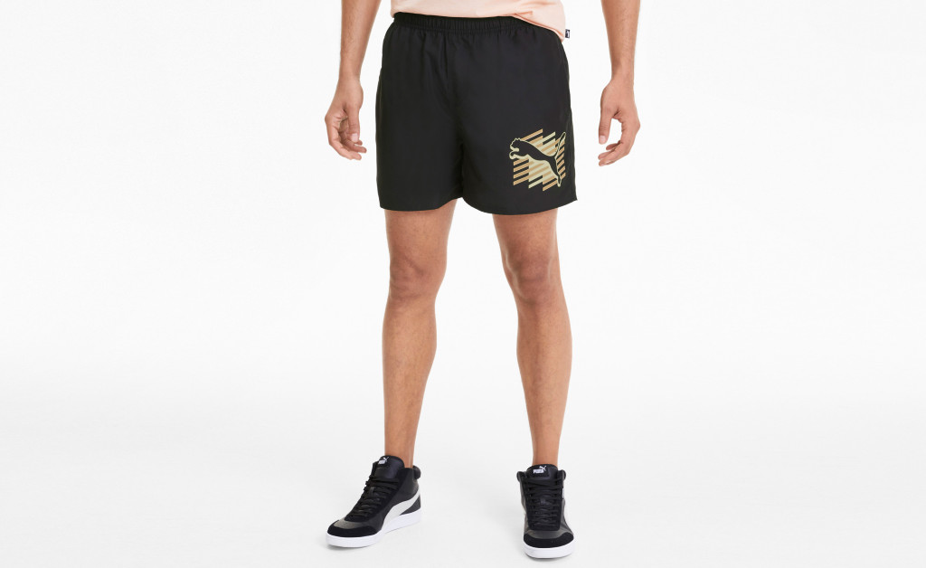PUMA ESSENTIALS+ SUMMER SHORTS GRAPHIC IMAGE 4