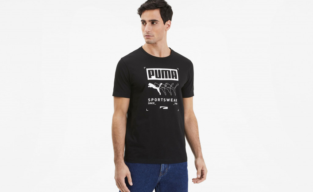 PUMA BOX TEE IMAGE 2