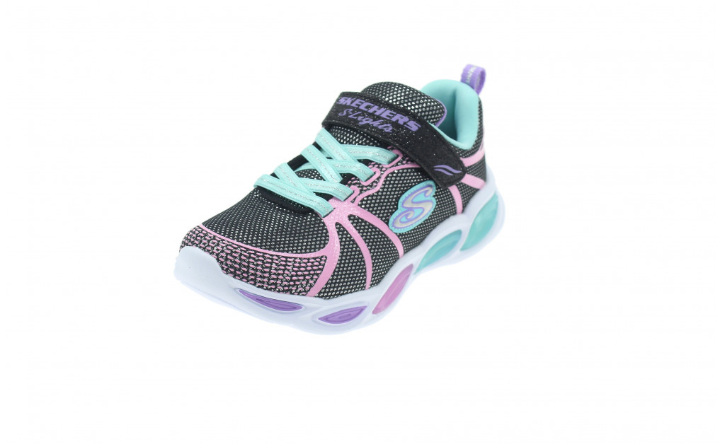 SKECHERS LIGHTS SHIMMER BEAMS KIDS IMAGE 1
