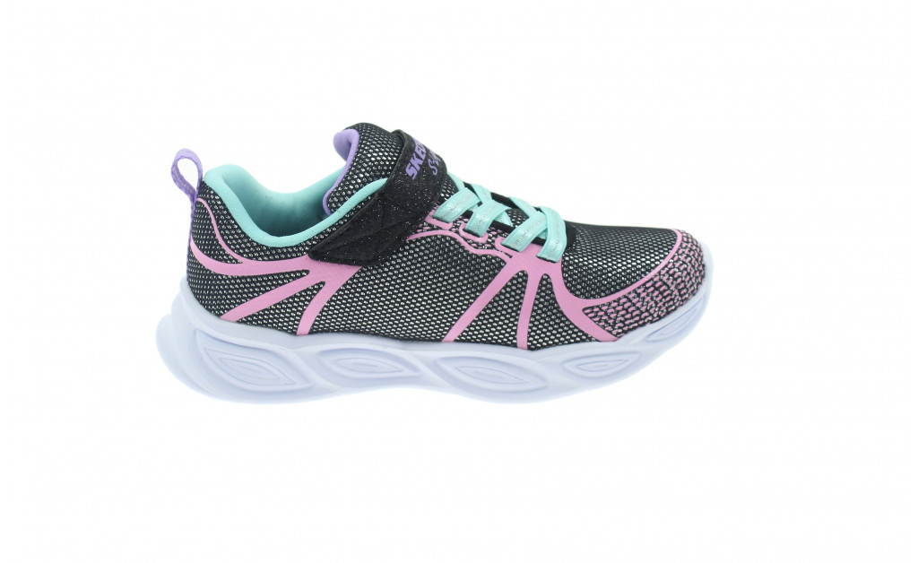 SKECHERS LIGHTS SHIMMER BEAMS KIDS IMAGE 3