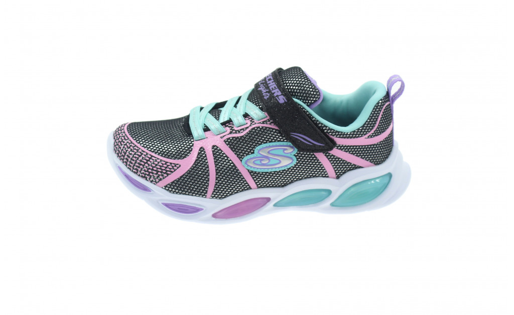 SKECHERS LIGHTS SHIMMER BEAMS KIDS IMAGE 5
