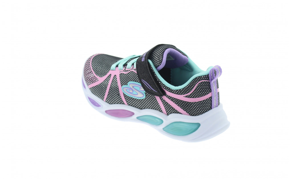 SKECHERS LIGHTS SHIMMER BEAMS KIDS IMAGE 6