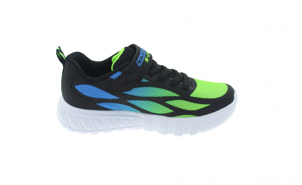 SKECHERS LUCES LIGHTS FLEX-GLOW KIDS IMAGE 3
