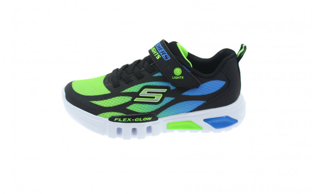 SKECHERS LUCES LIGHTS FLEX-GLOW KIDS IMAGE 5