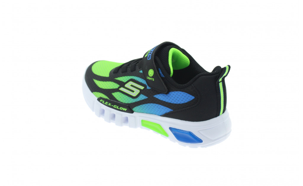 SKECHERS LUCES LIGHTS FLEX-GLOW KIDS IMAGE 6