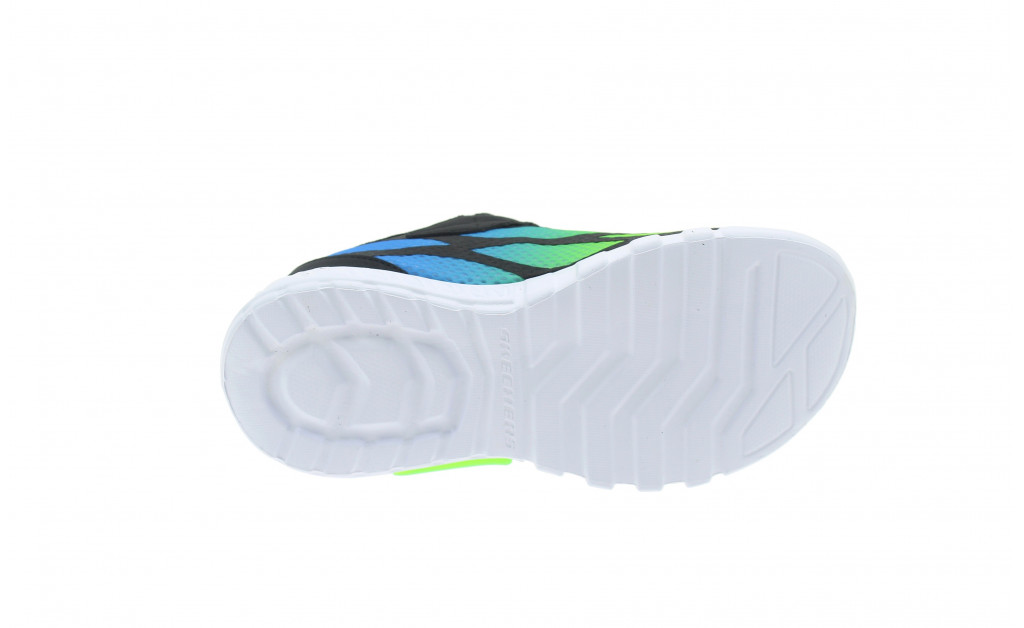 SKECHERS LUCES LIGHTS FLEX-GLOW KIDS IMAGE 7