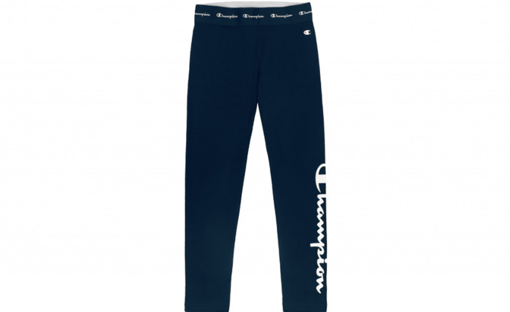 CHAMPION LOGO COTTON 230 GR LEGGING IMAGE 2