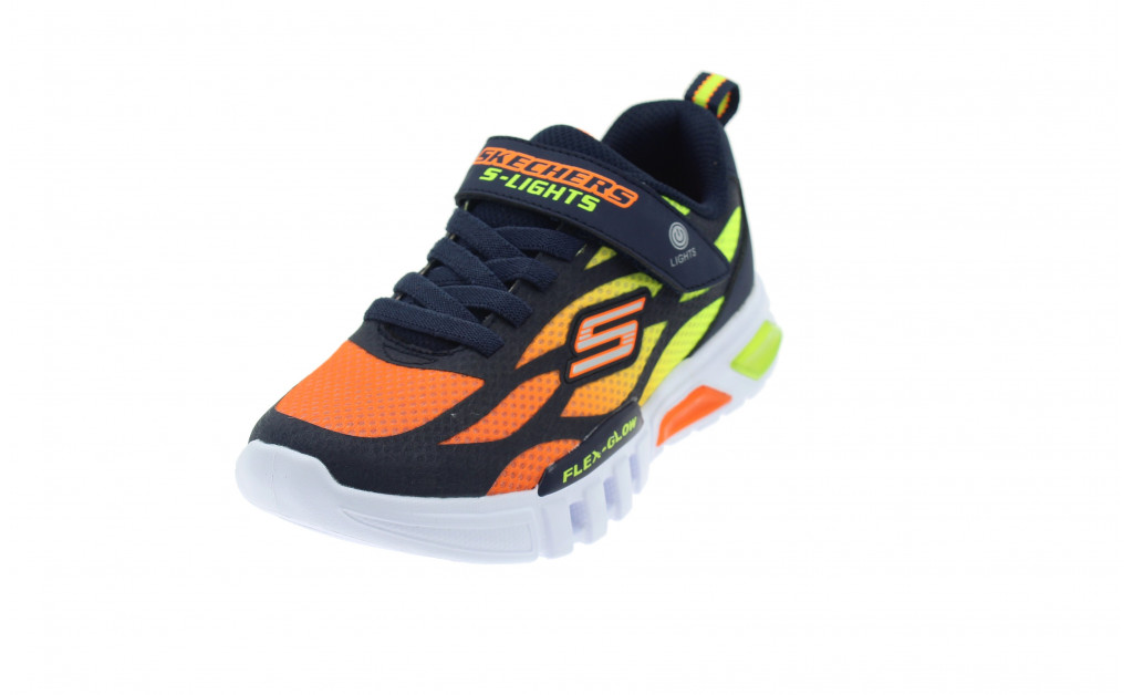 SKECHERS LUCES LIGHTS FLEX-GLOW KIDS IMAGE 1