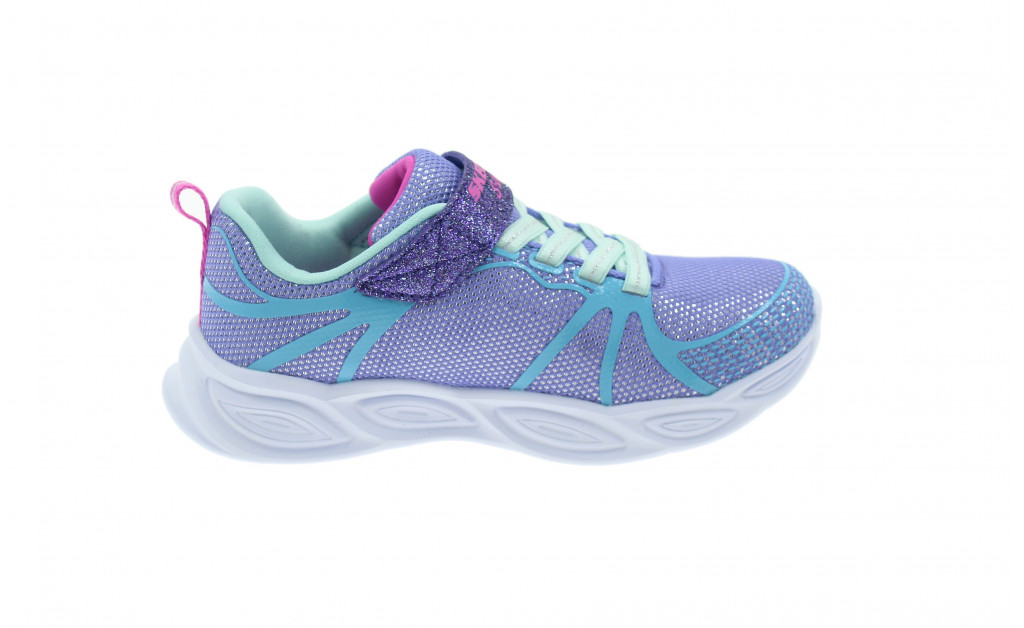SKECHERS LUCES LIGHTS SHIMMER BEAMS KIDS IMAGE 3