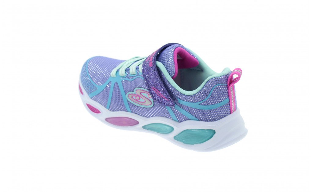 SKECHERS LUCES LIGHTS SHIMMER BEAMS KIDS IMAGE 6