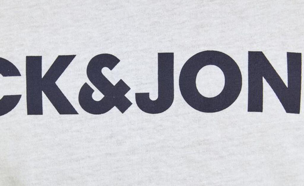 JACK & JONES LOGO BLOCKING TEE IMAGE 5
