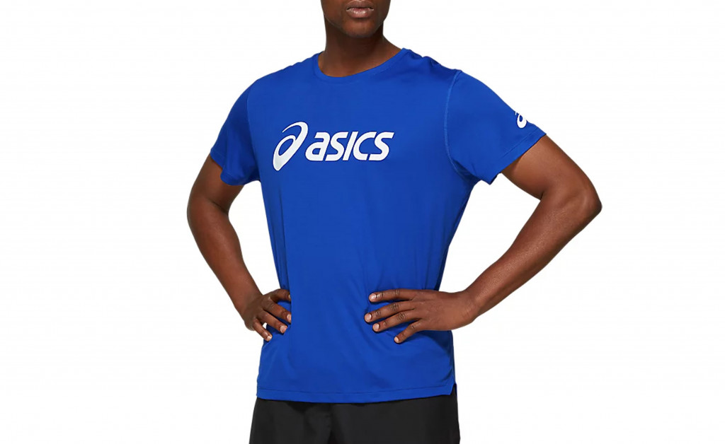 ASICS SILVER TOP IMAGE 1