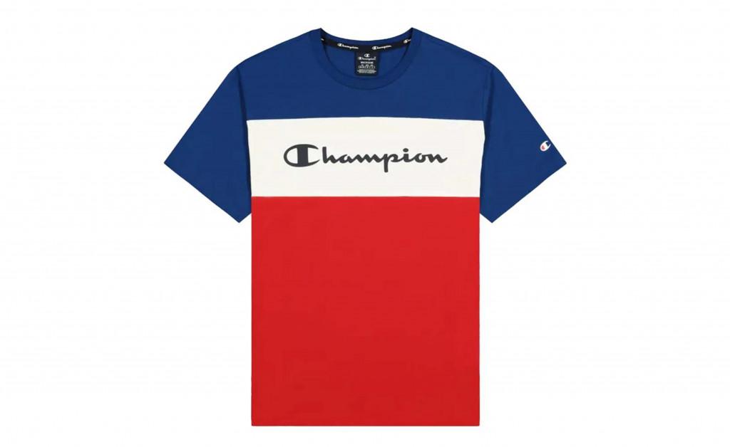 CHAMPION  COTTON JERSEY TRICOLOR IMAGE 1